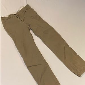Abercrombie boys khaki pants slim 13/14